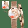 Buy Women's Custom Photo Watch Bangle Set, Set-532
