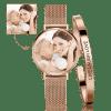 Buy Women's Custom Photo Watch Bangle Set, Set-533