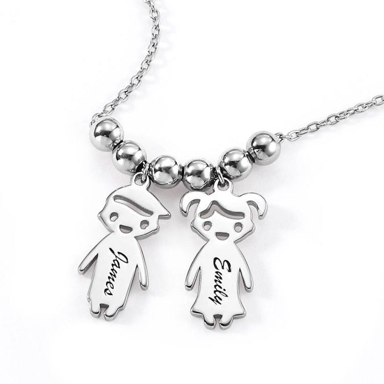 1 x Liam Name Personalised Men Text Black Silver Plated Clip On Charm Gift Tag