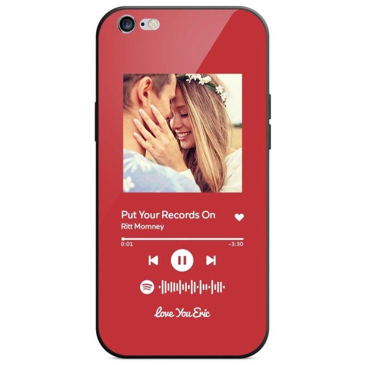 Coque Iphone Personnalisée Spotify Code Music Avec Texte Scannable ...