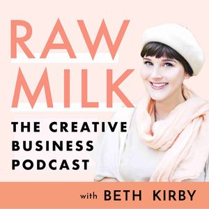 Raw Milk - The Creative Business Podcast about social media, marketing, branding, blogging