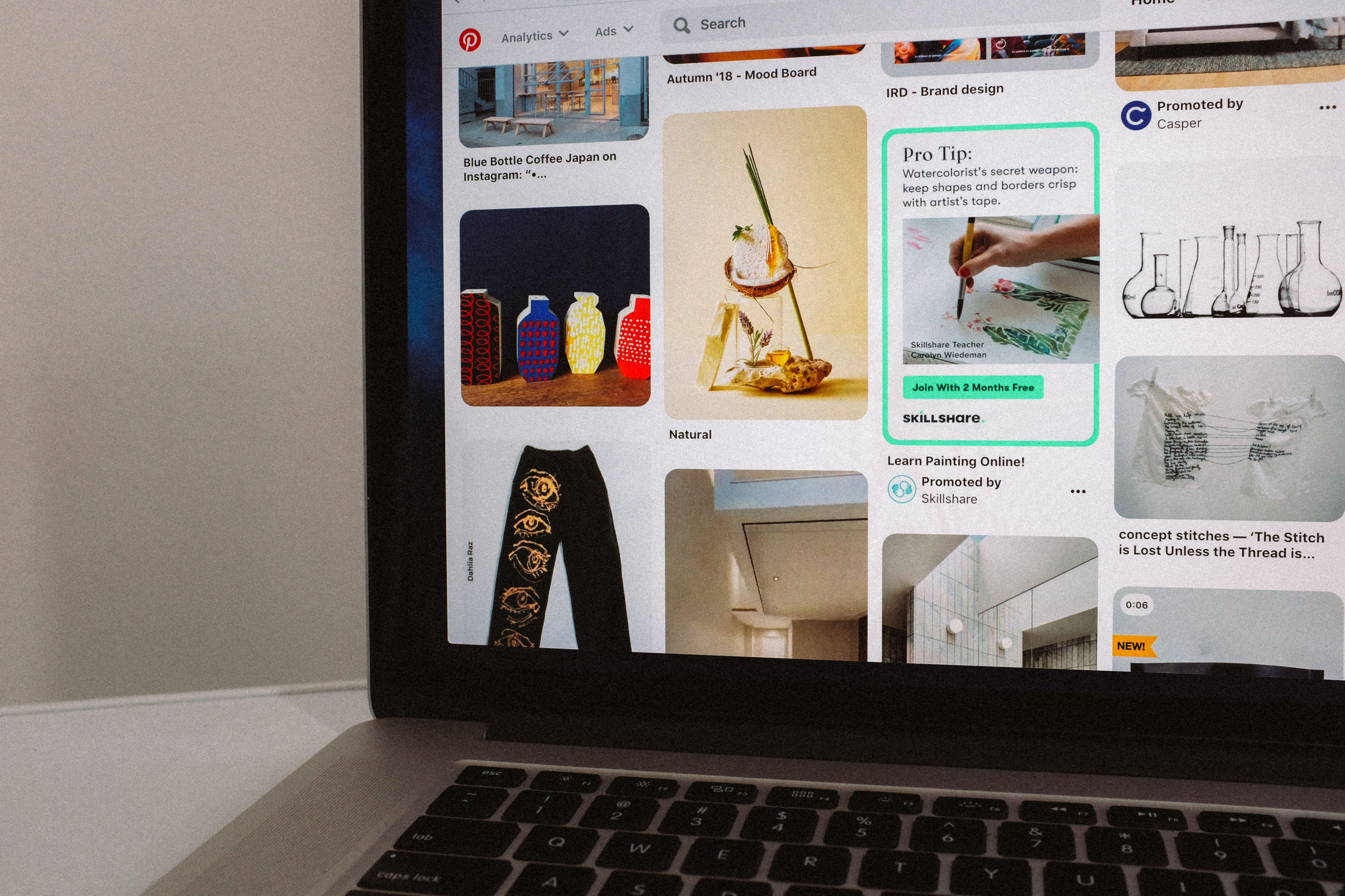 A strong Pinterest profile is key to viral success.