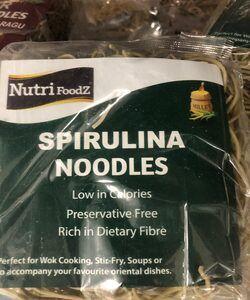 NF SPIRULINA NOODLES 180 GM