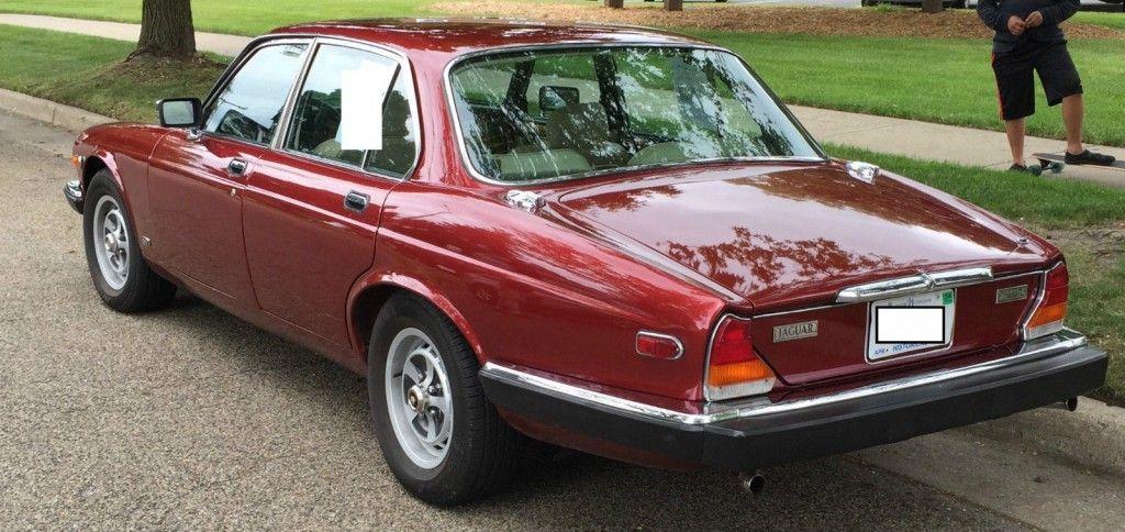 1984 Jaguar XJ Vanden Plas Sedan