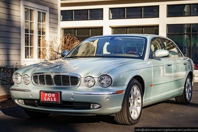 2005 Jaguar XJ8 L Seafrost
