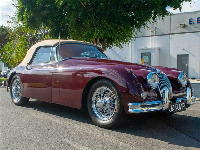 1958 Jaguar XK Convertible