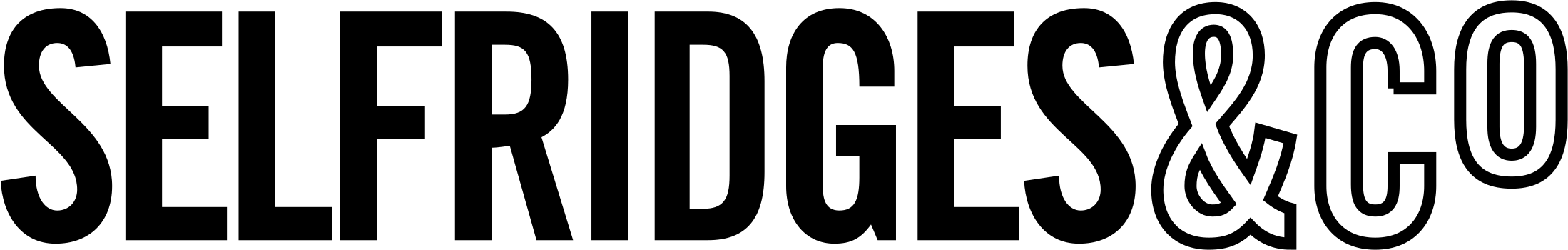 Selfridges brand logo