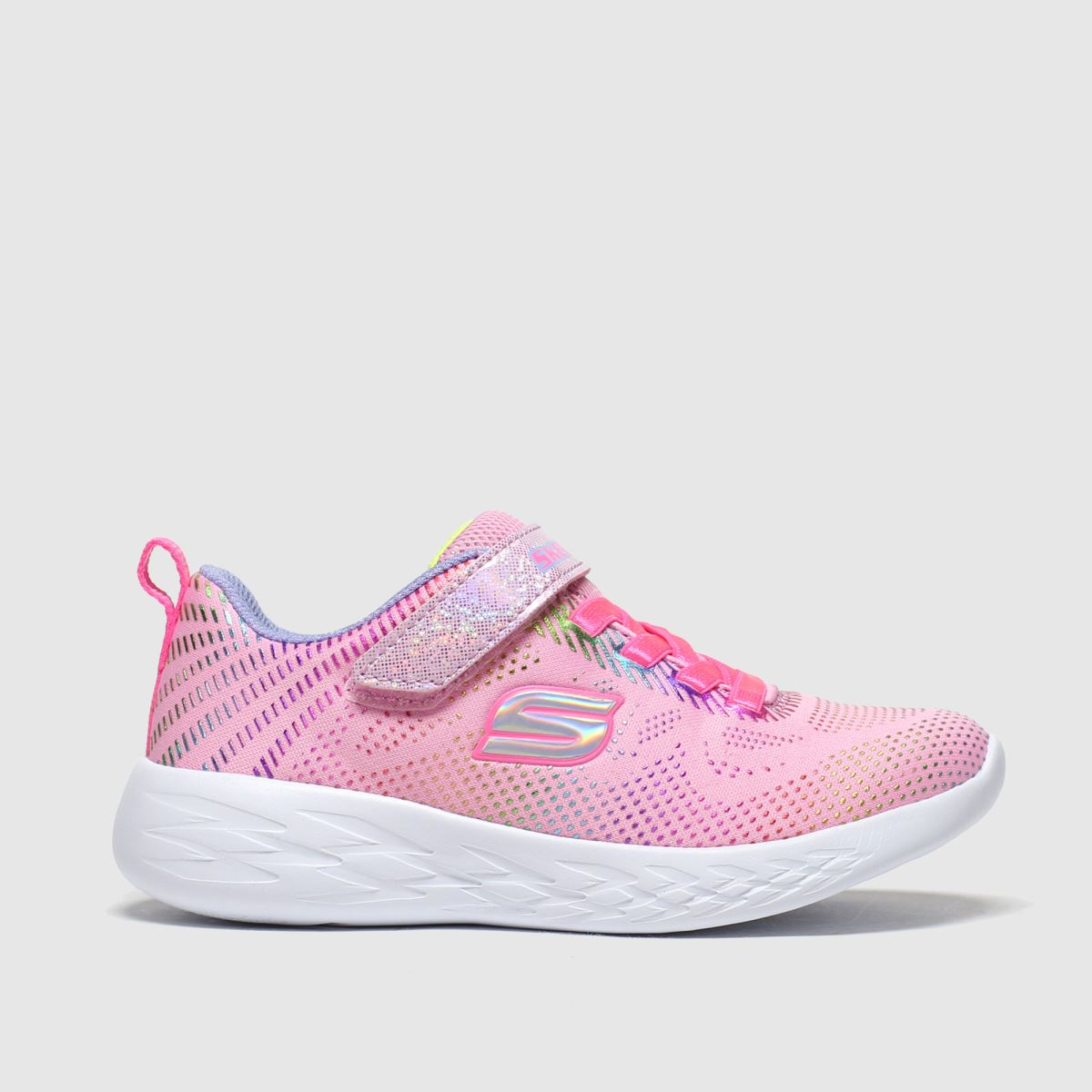 Pale Pink Go Run 600 Trainers Junior