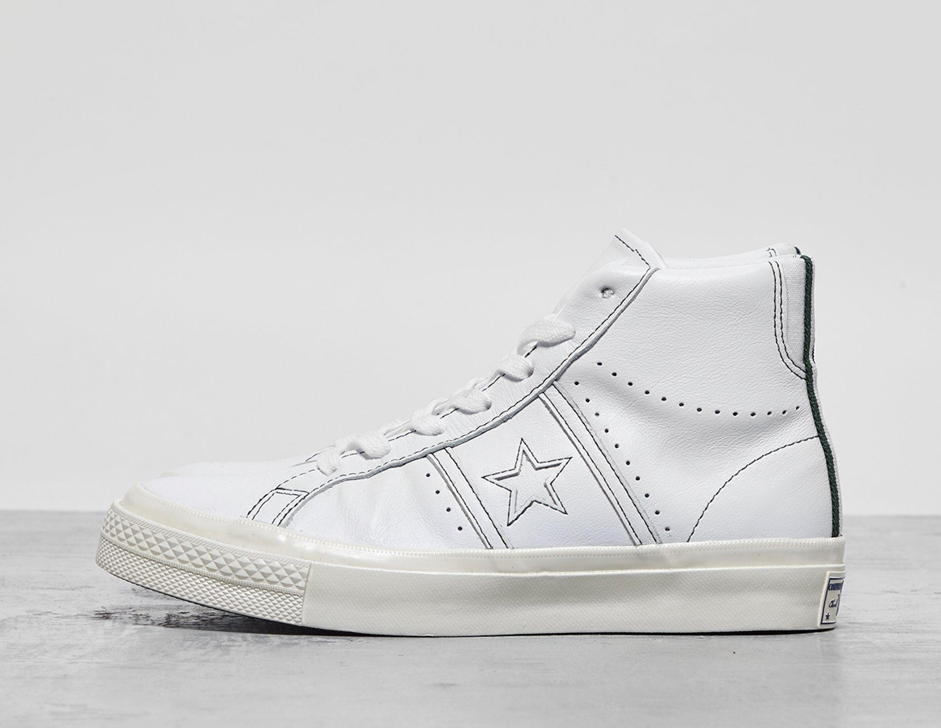 Womens Converse Player LT QS Ox Women's - White, White ...