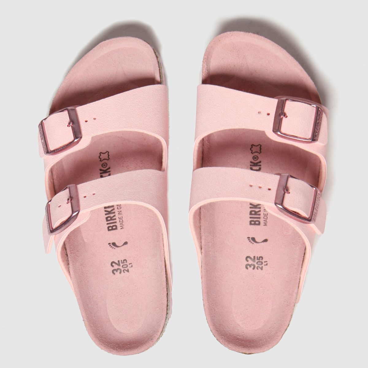 Birkenstock Pale Pink Arizona Sandals