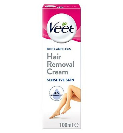 Veet 40 Wax Strips Maxi Format Sensitive Skin Compare Union
