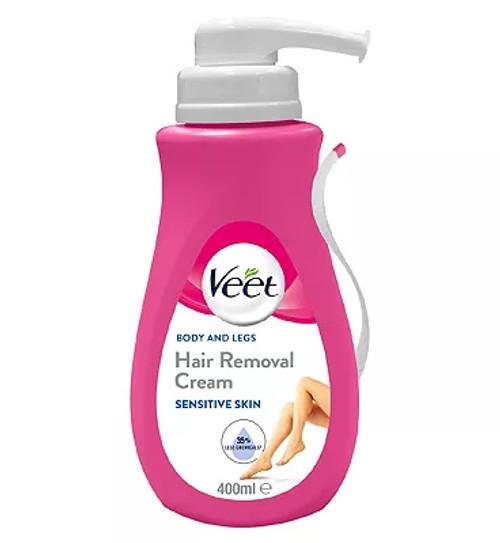 Veet In Shower Hair Removal Cream With Aloe Vera Vitamin E For