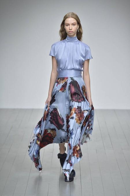 Fall For Florals Like Gemma Whelan In A Blue Dress By Teatum Jones Mailonline