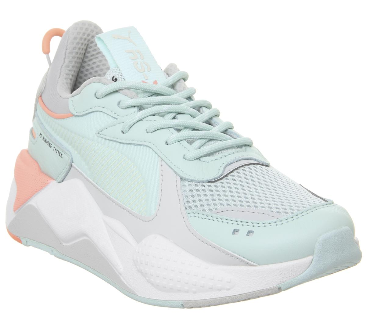 Puma Rs-x Tracks MINT PEACH WHITE   Compare   The Oracle Reading