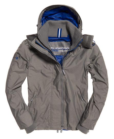 Superdry Womens Tech Hood Pop Zip Sd-Windcheater Jacket