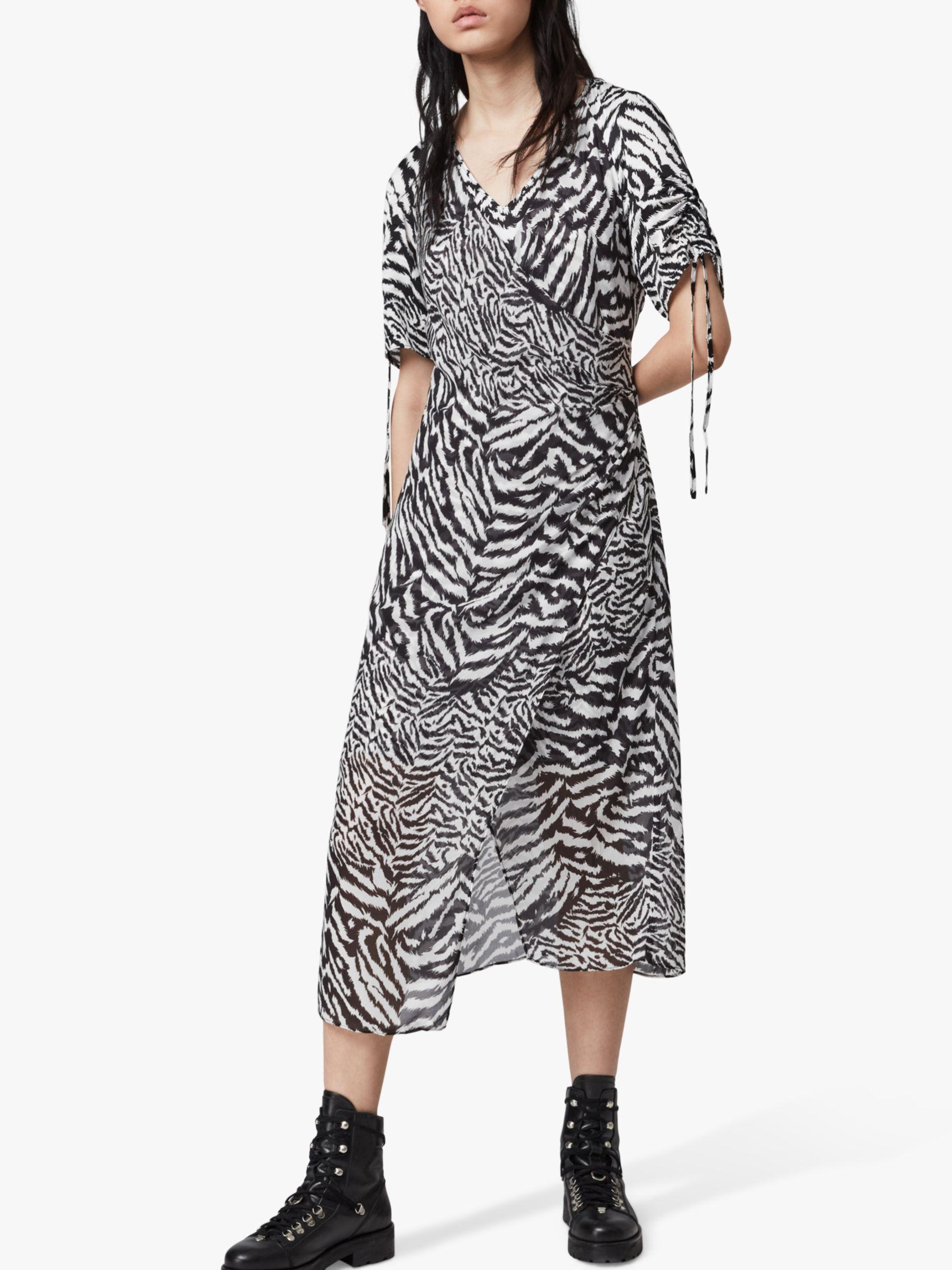 AllSaints Fayre Midi Dress, Chalk White | £79.20 | Westquay