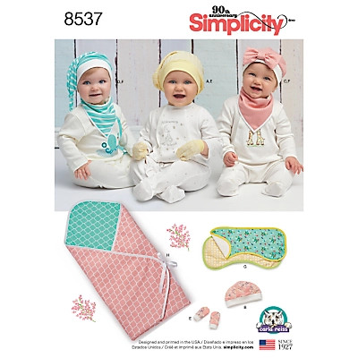 Simplicity Table Top Accessories Sewing Pattern 5530