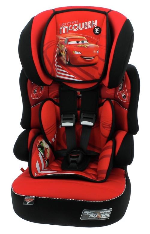 TT Disney Cars Befix SP Group 2//3 Booster Car Seat Red