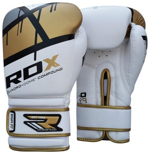 White and Black RDX 6oz Childs Boxing Gloves