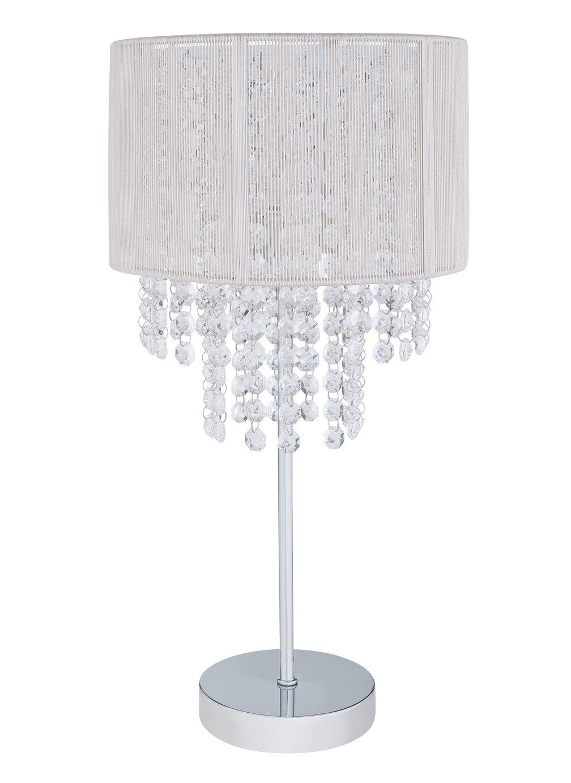 Chrome Argos Home Task Table Lamp