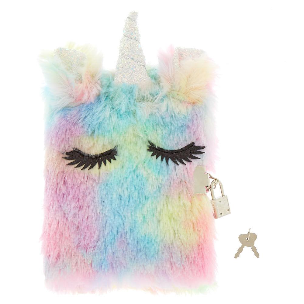 Pastel Rainbow Unicorn Travel Pillow