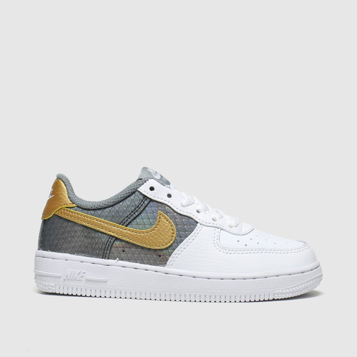 Nike Pale Pink Air Force 1 Ss Trainers