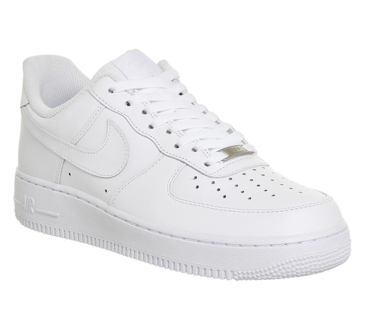 Nike Air Force 1 (m) WHITE   Compare