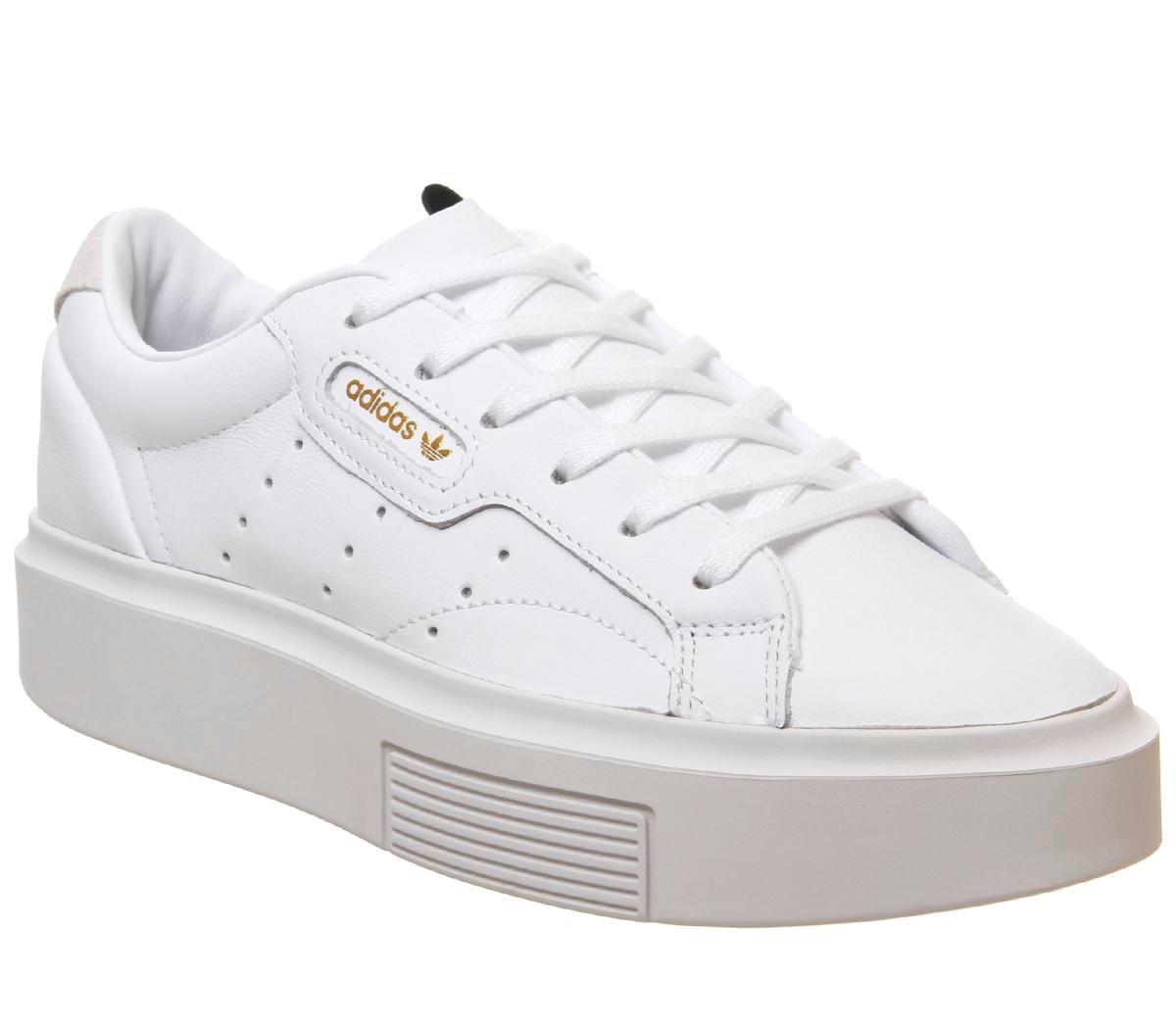 adidas Sleek Bold WHITE WHITE CRYSTAL