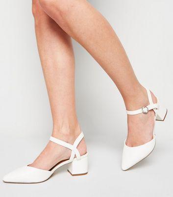 Low Heel Court Shoes New Look Vegan