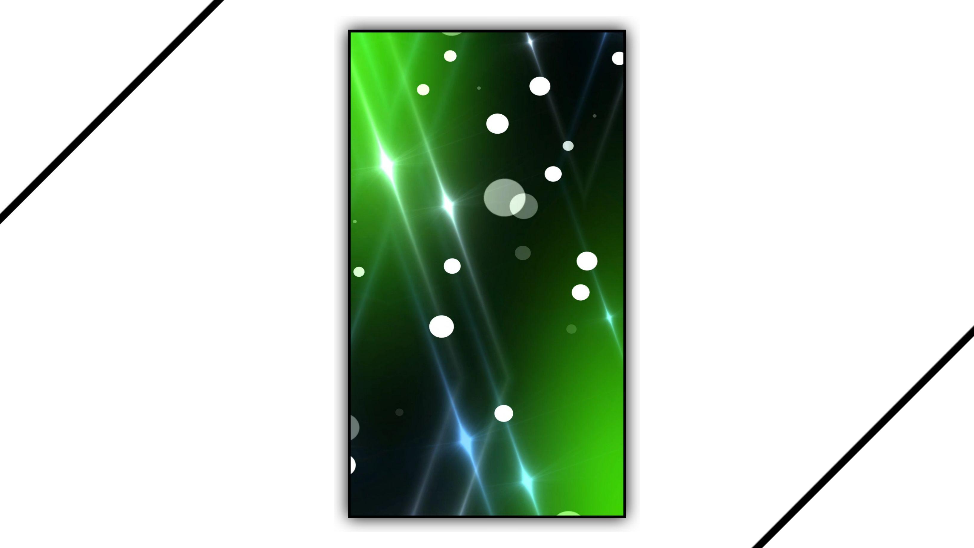 Green Screen Overlay Effect Video Background