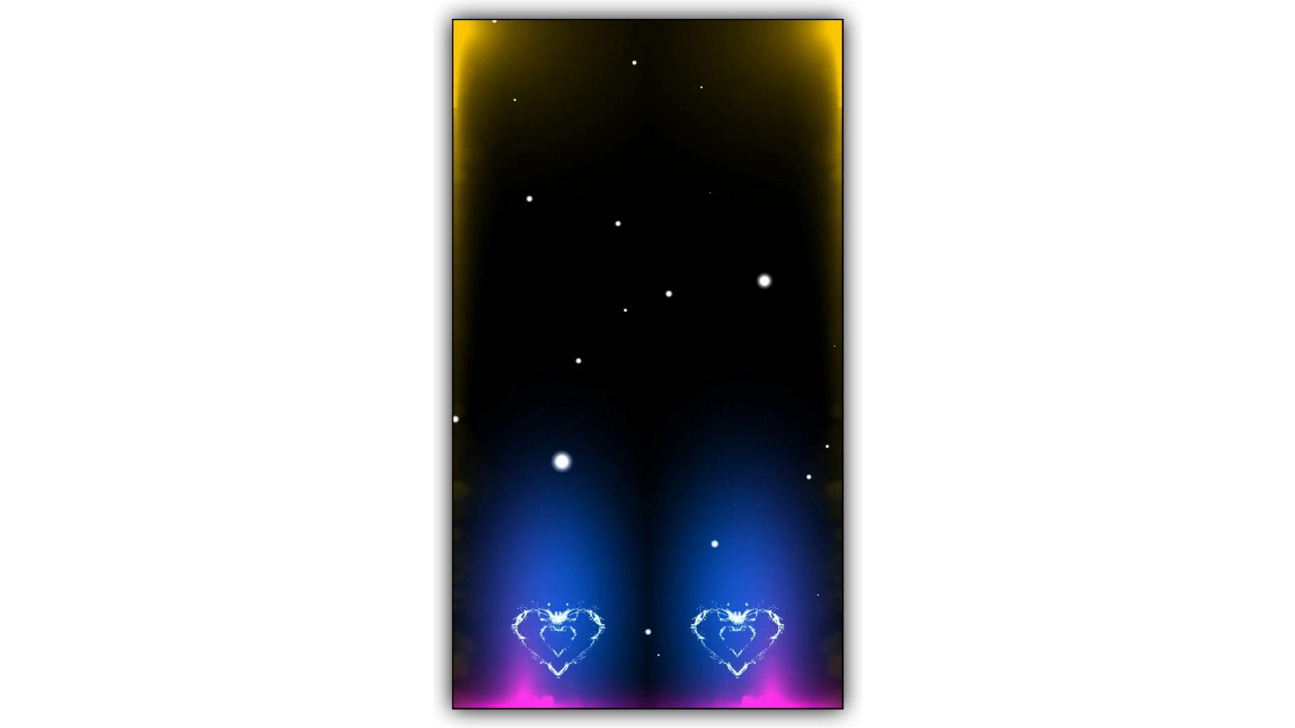 Lighting Drop Heart Kinemaster Template Download