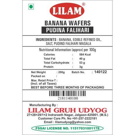 Banana Wafers Pudina