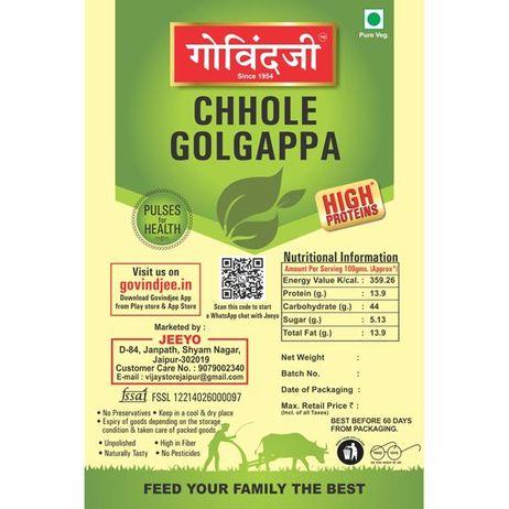 Chhole Golgappa