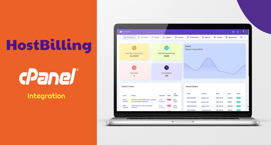 cPanel Integration with HostBilling: How to create hosting accounts directly from the HostBilling backend?