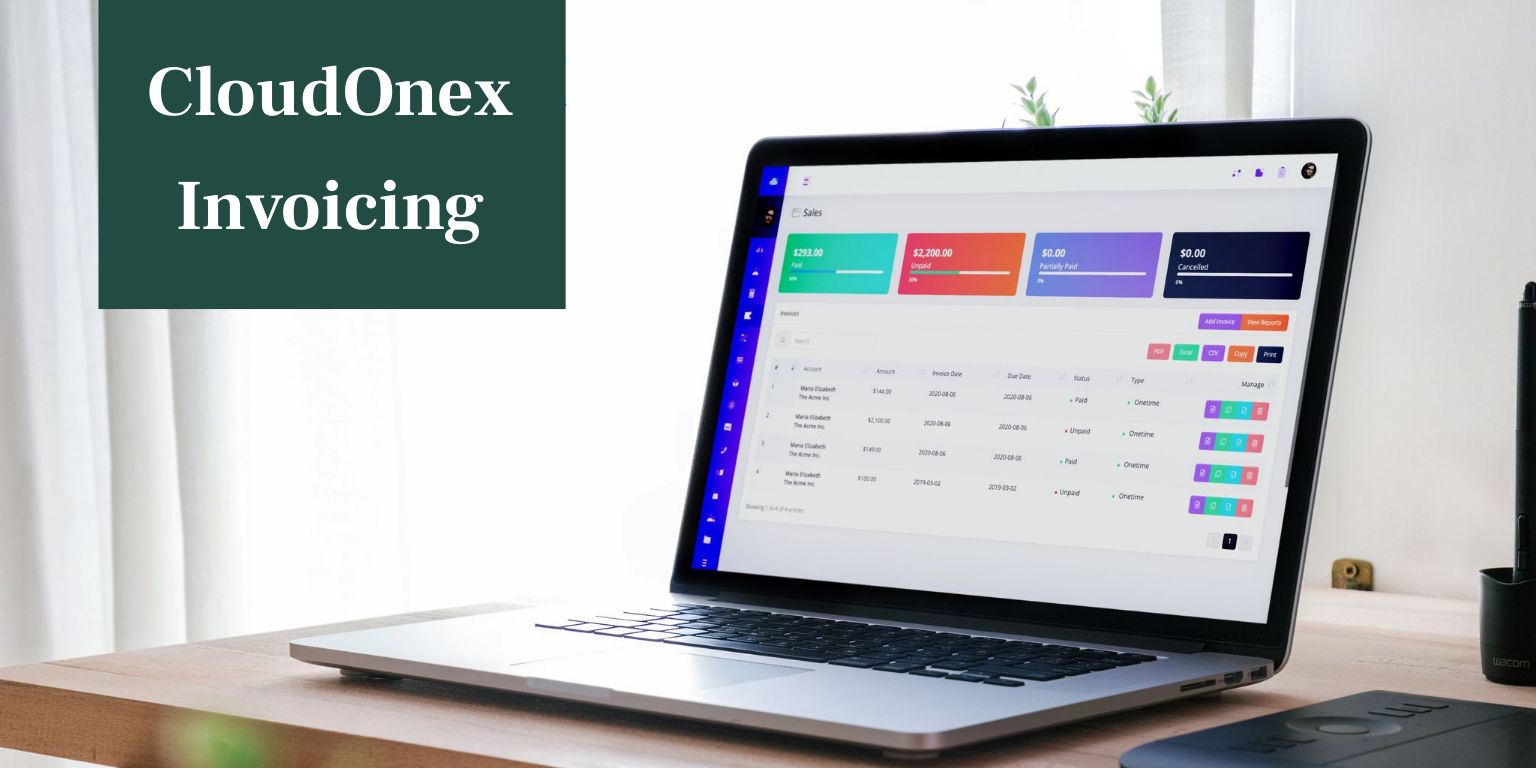 CloudOnex Invoicing: Features and Benefits