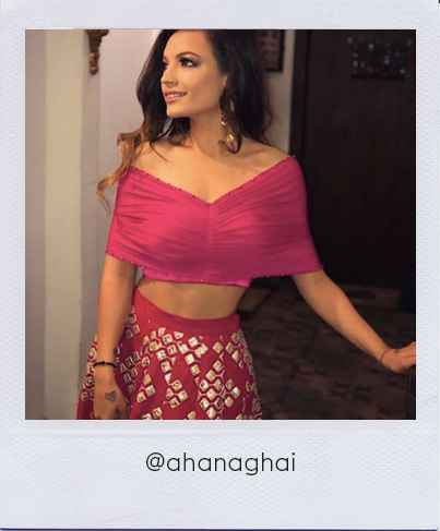 Ahana Ghai in Stage3 outfit