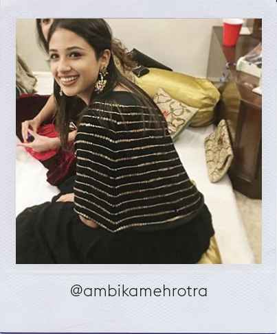 Ambika Mehrotra in Stage3 outfit