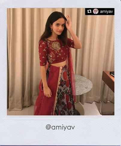 Ahmiya Vellapallya in Stage3 outfit