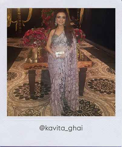 Kavita Ghai in Stage3 outfit