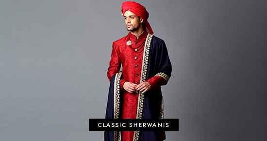 Classic Sherwanis