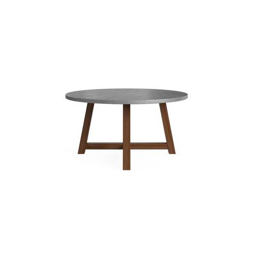 Lucille Concrete Dining Table 150cm, Concrete Round Dining Table Australia