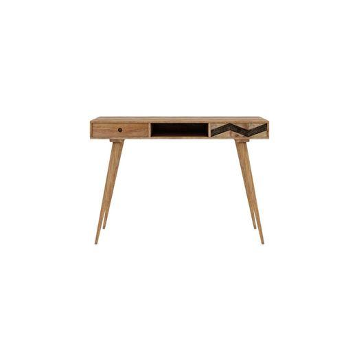 Potter Desk Natural Solid Mango Wood, Mango Wood Desk