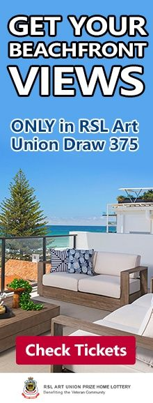 RSL Art Union Draw 375