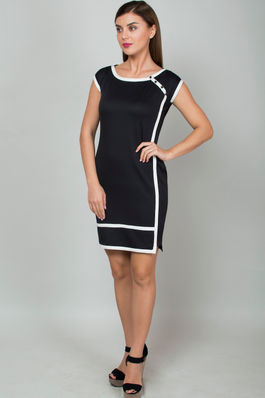 Formal Overlap Dress
