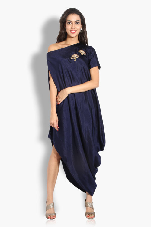 Rainy Day Drape Dress
