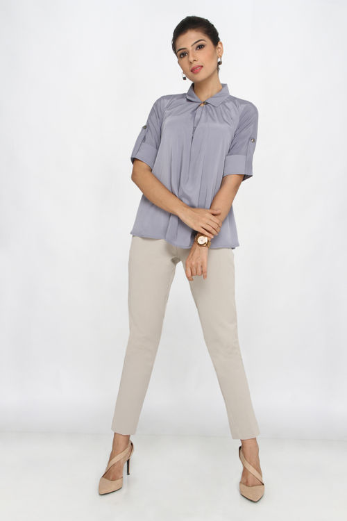 Front Pleat Shirt