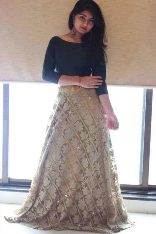 Lehenga and Crop Top Set