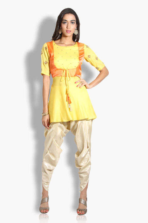 Sunshine Peplum Kurta Set