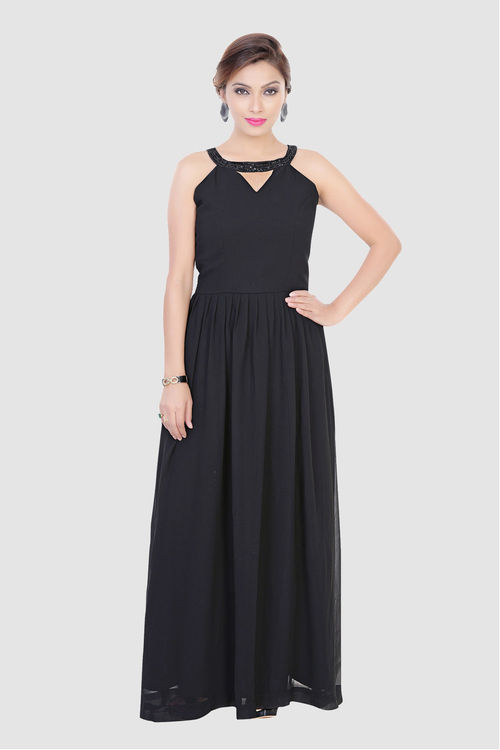 Black Cocktail Gown