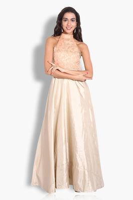 Paper Silk and Chiffon Gown